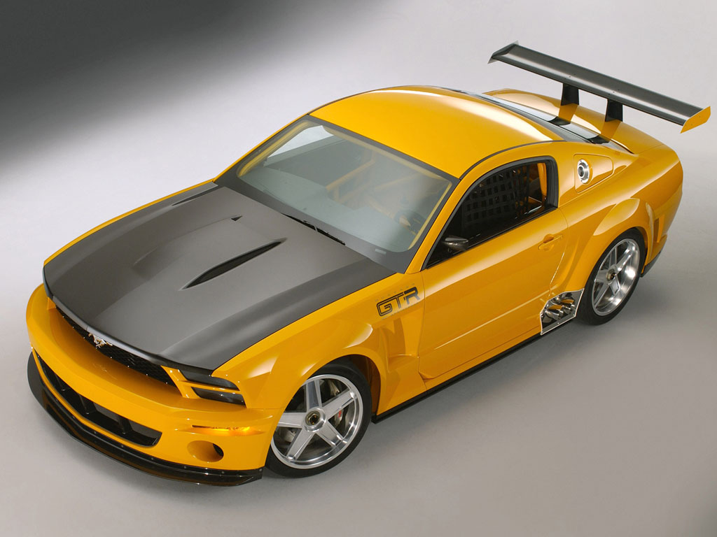 2004 ford mustang gt r concept ford. Black Bedroom Furniture Sets. Home Design Ideas
