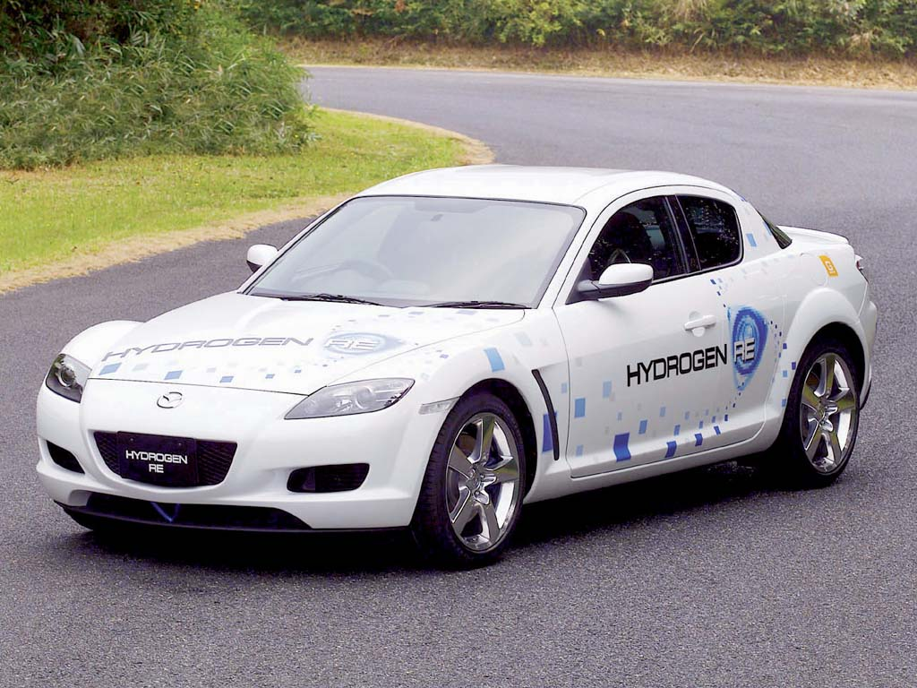 2004 Mazda Rx 8 Hydrogen Concept Review Supercars Net