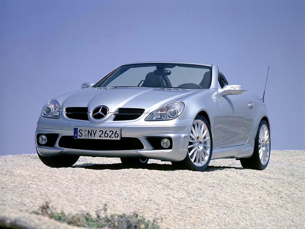 2004 mercedes benz slk 55 amg review