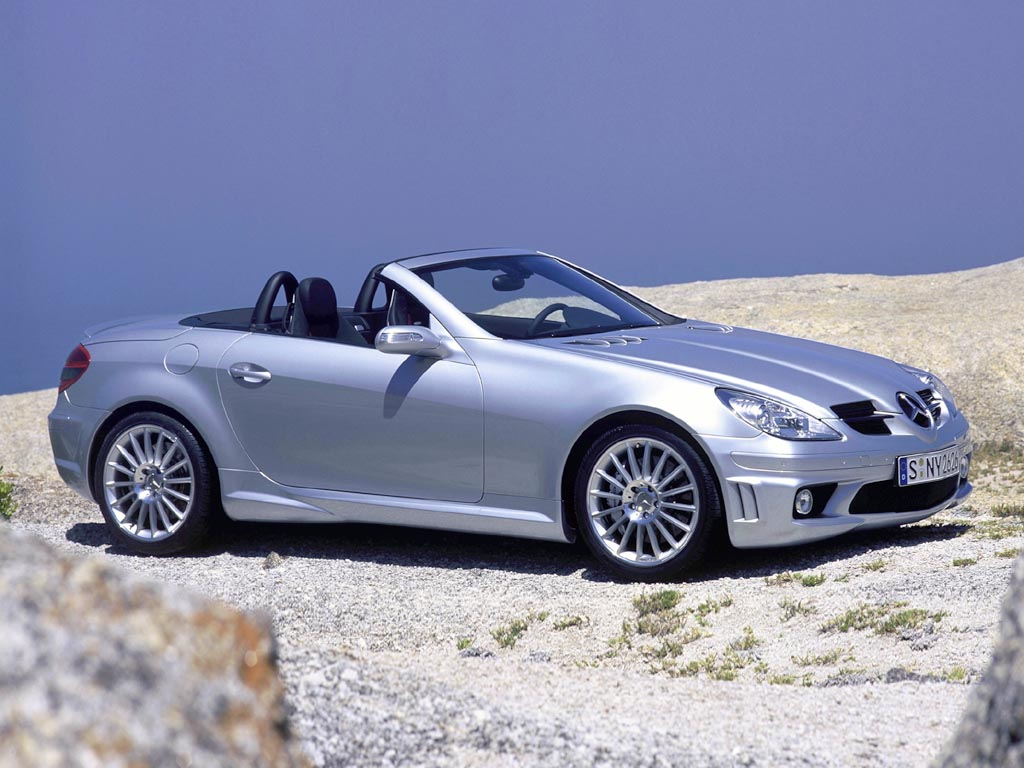 2004 mercedes benz slk 55 amg. Black Bedroom Furniture Sets. Home Design Ideas