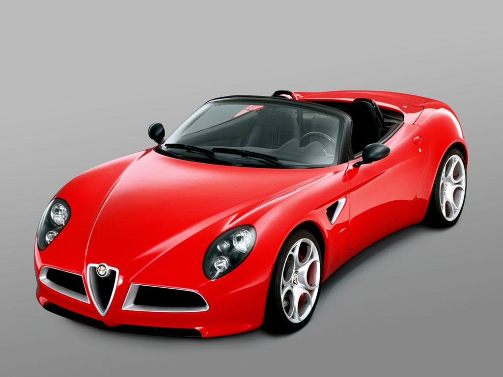 2005 Alfa Romeo 8C Spider Concept