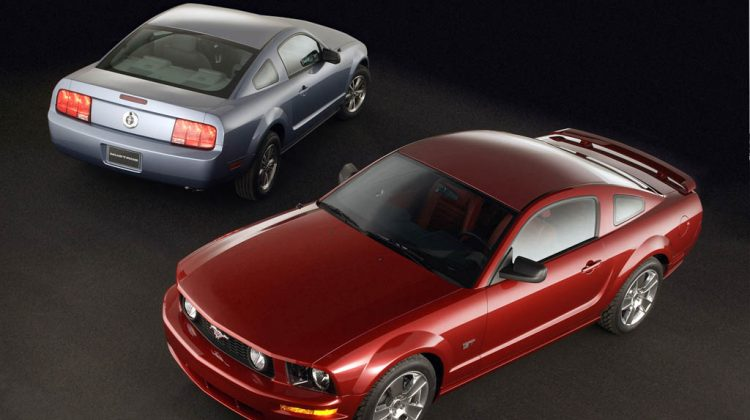 2005→2010 Ford Mustang GT