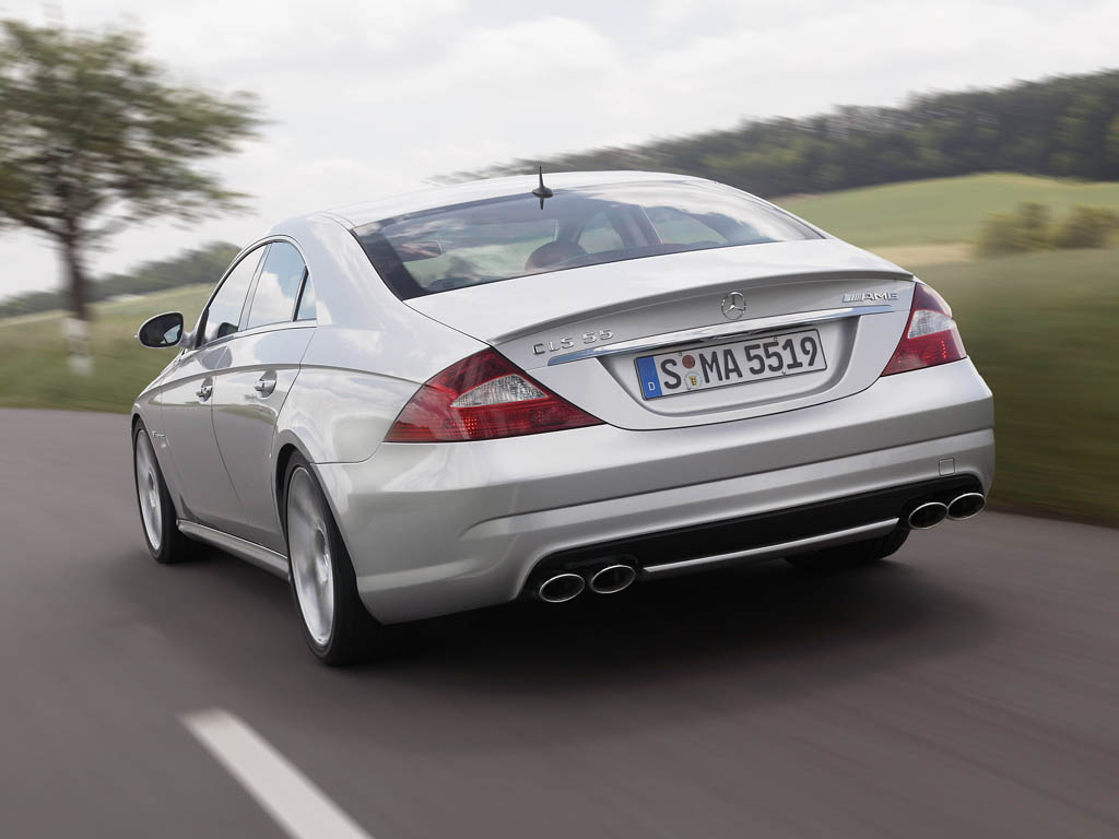 2005 mercedes benz cls 55 amg review. Black Bedroom Furniture Sets. Home Design Ideas