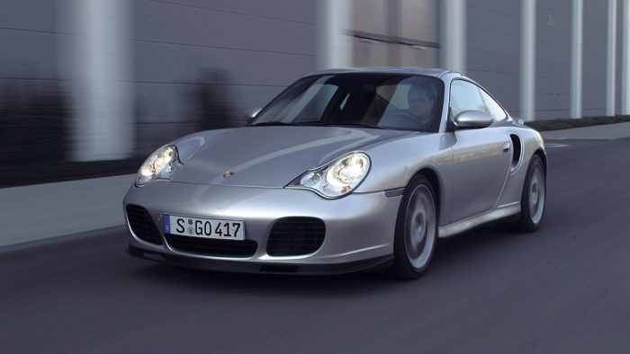 2004→2005 Porsche 911 Turbo S Coupé