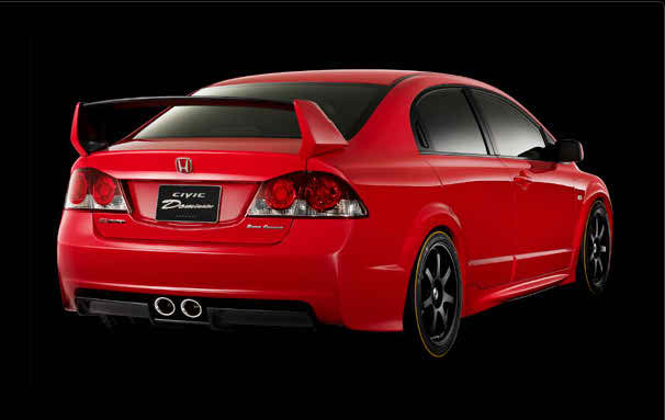 2006 Mugen Civic Dominator Concept Review Supercars Net