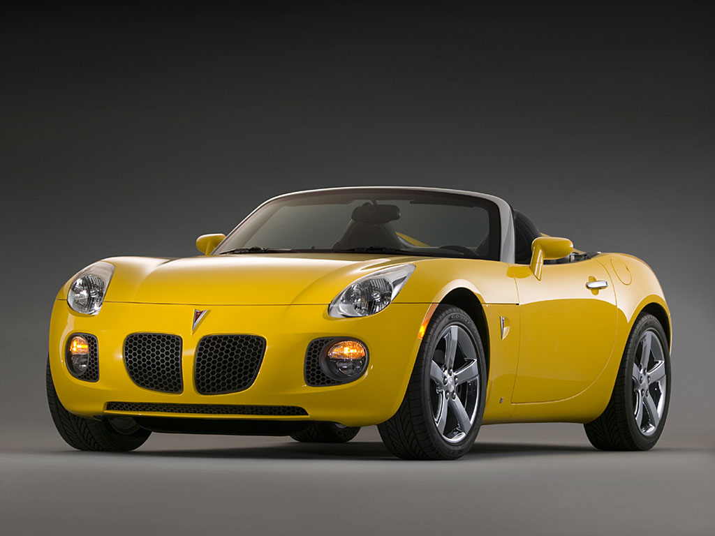 Pontiac Sports Cars Solstice
