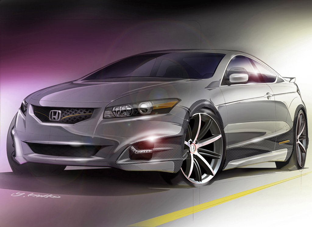 2007 Honda Accord Coupe HF-S Concept