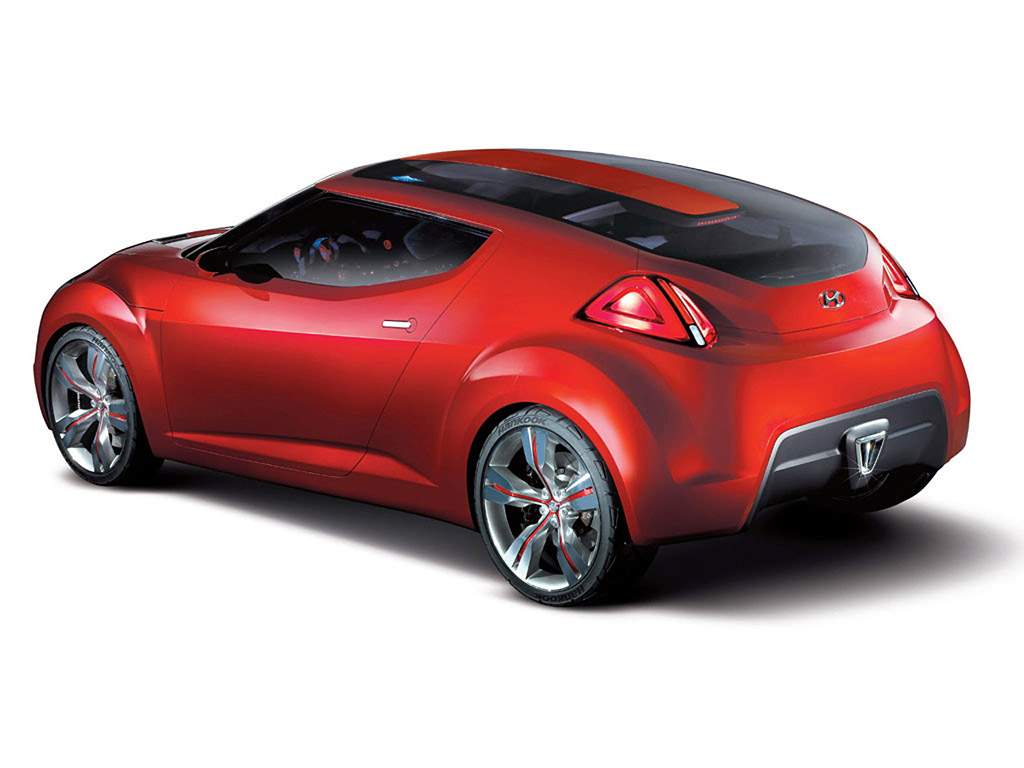 2007 Hyundai HND-3 Veloster Concept | Review | SuperCars.net