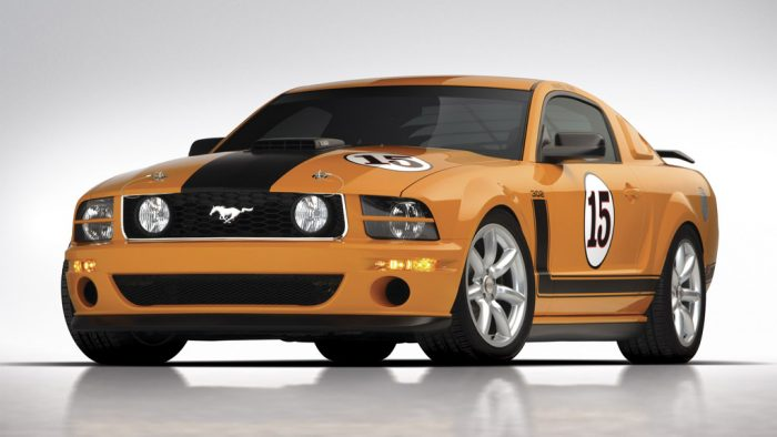 2007 Saleen Mustang Parnelli Jones Limited Edition