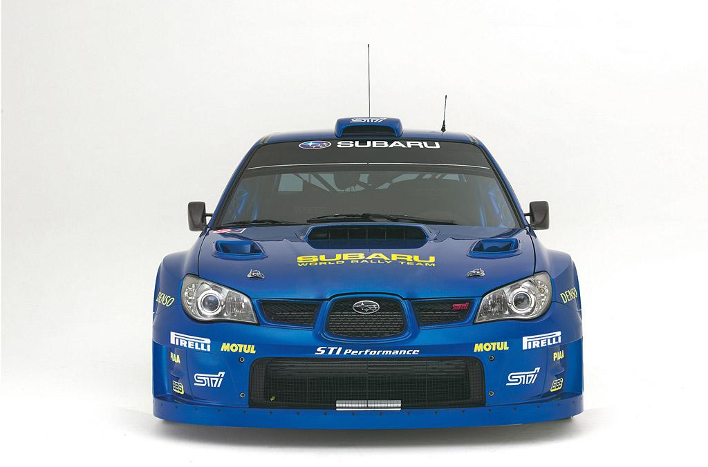 2007 Subaru Impreza Wrc2007 Subaru Supercars