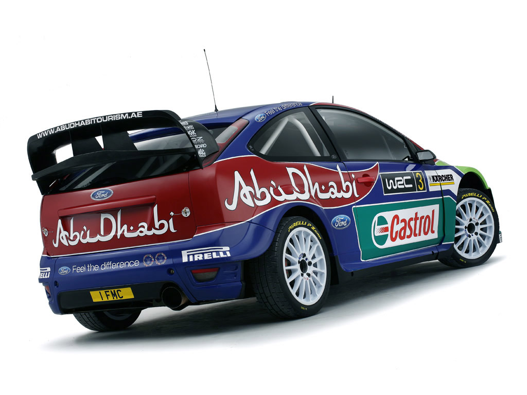 2008 Ford Focus RS WRC 08
