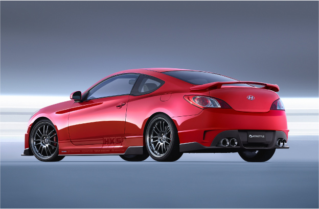 2008 HKS Genesis Coupe