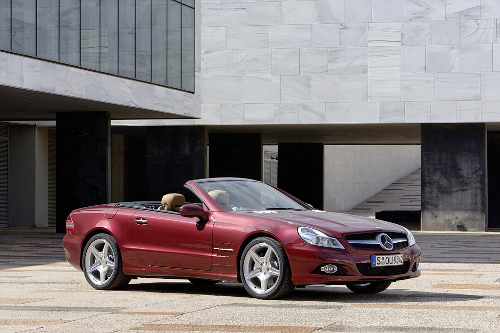 2008→2011 Mercedes-Benz SL 500