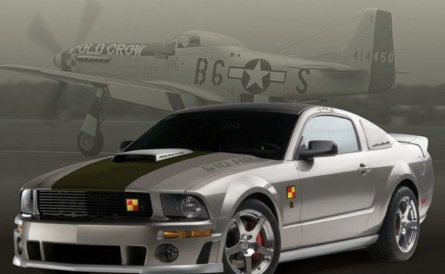 2008 Roush Mustang P-51a