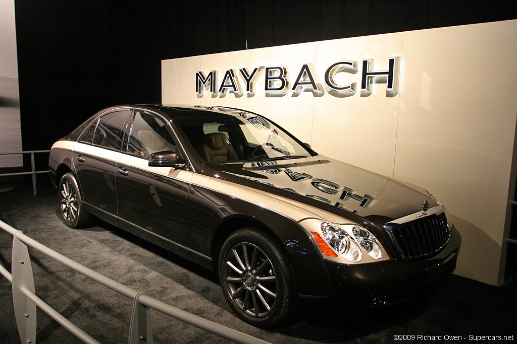 2009 Maybach 57 Zeppelin Review Supercars Net