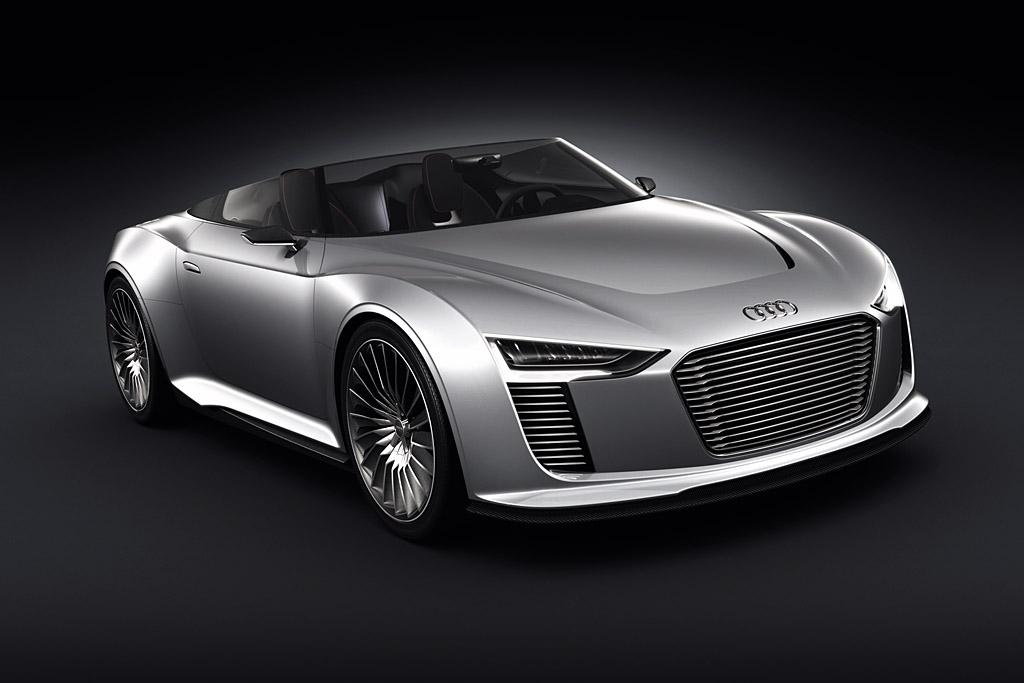 2010 Audi e-tron Spyder