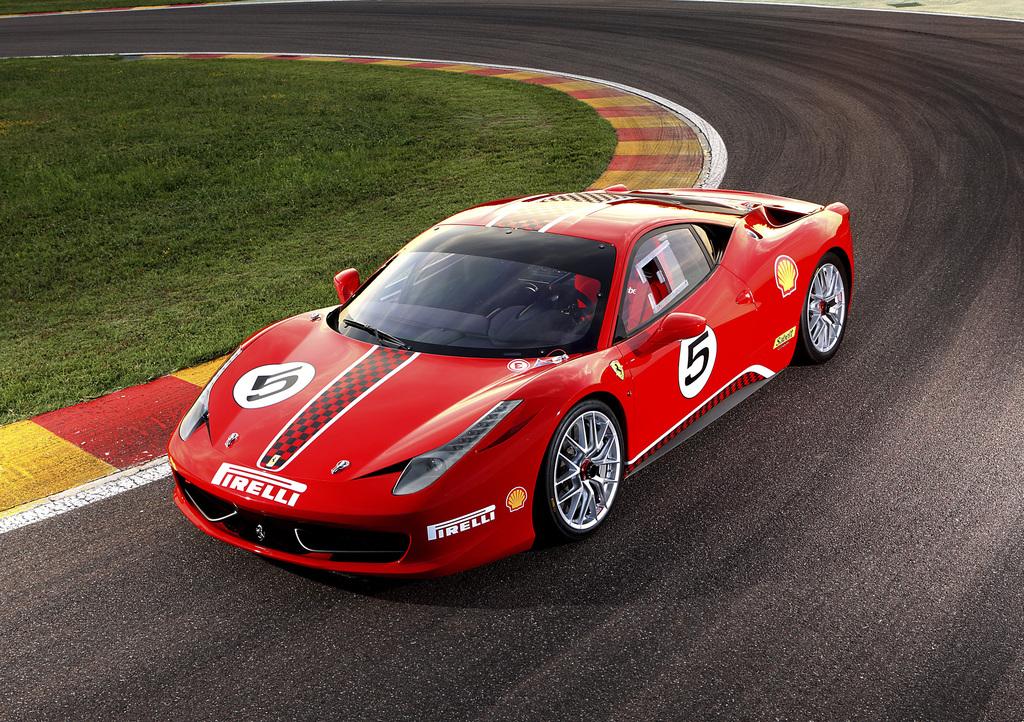 2010 Ferrari 458 Challenge