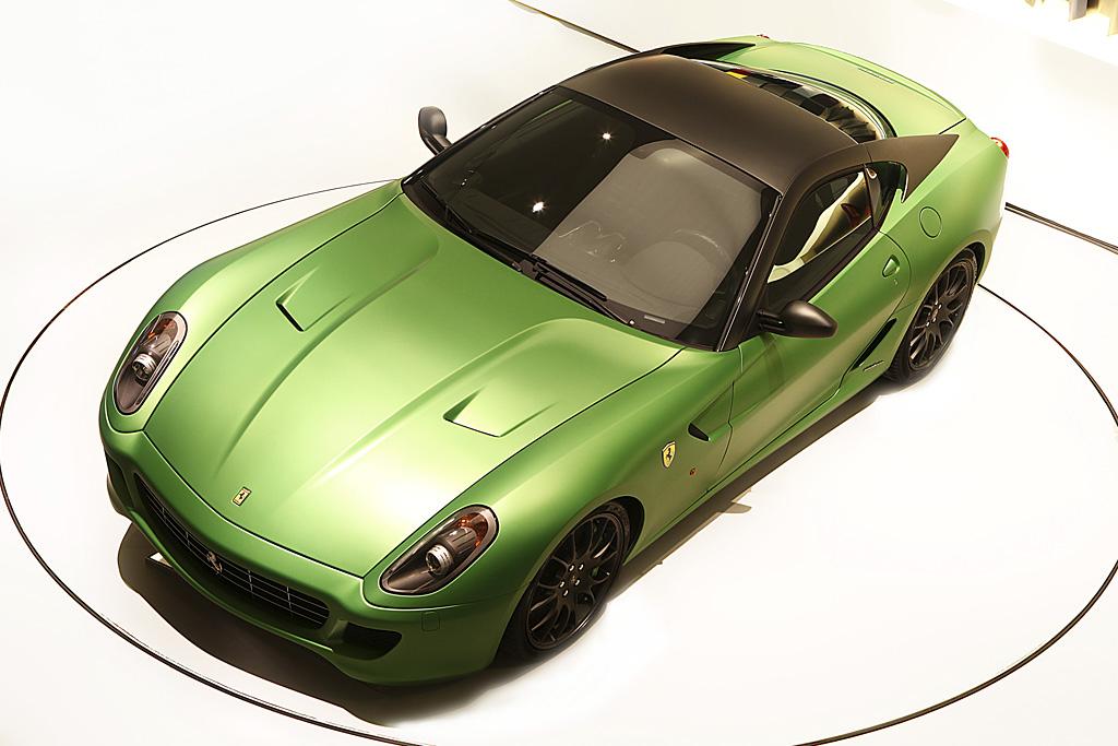 2010 Ferrari 599 HY-KERS vettura laboratorio