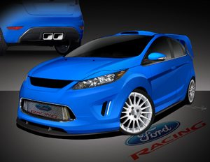2010 Ford Racing Fiesta