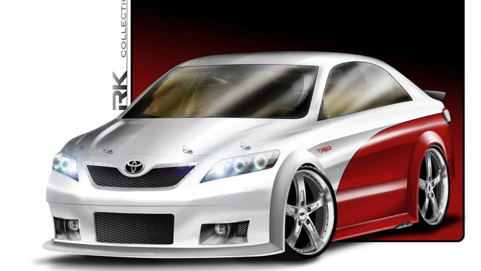 2010 RK Collection Camry NASCAR Edition
