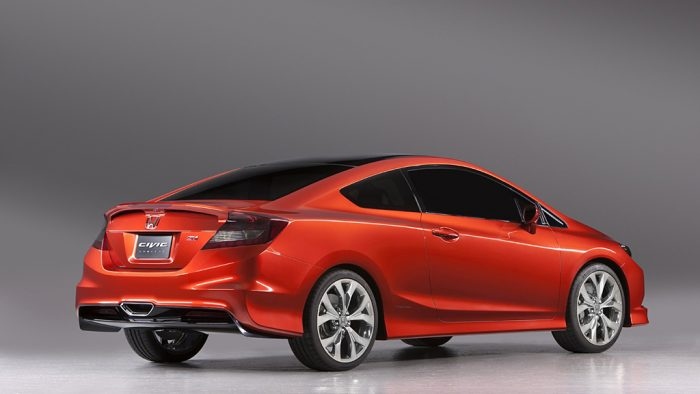 2011 Honda Civic Si Concept Coupe