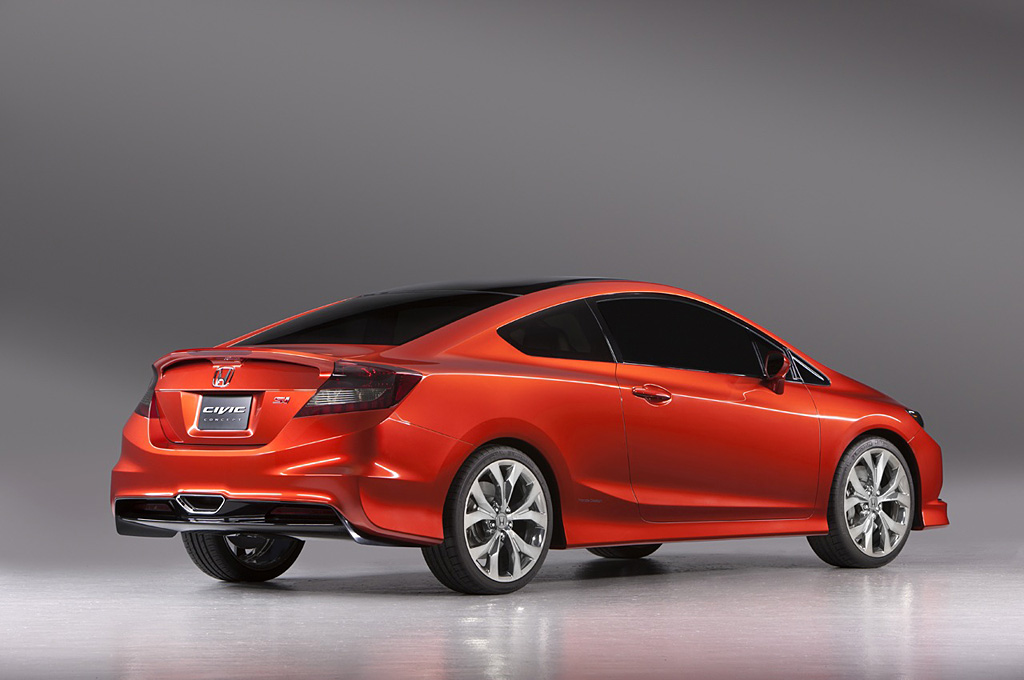 2011 Honda Civic Si Concept Coupe Review Supercars Net