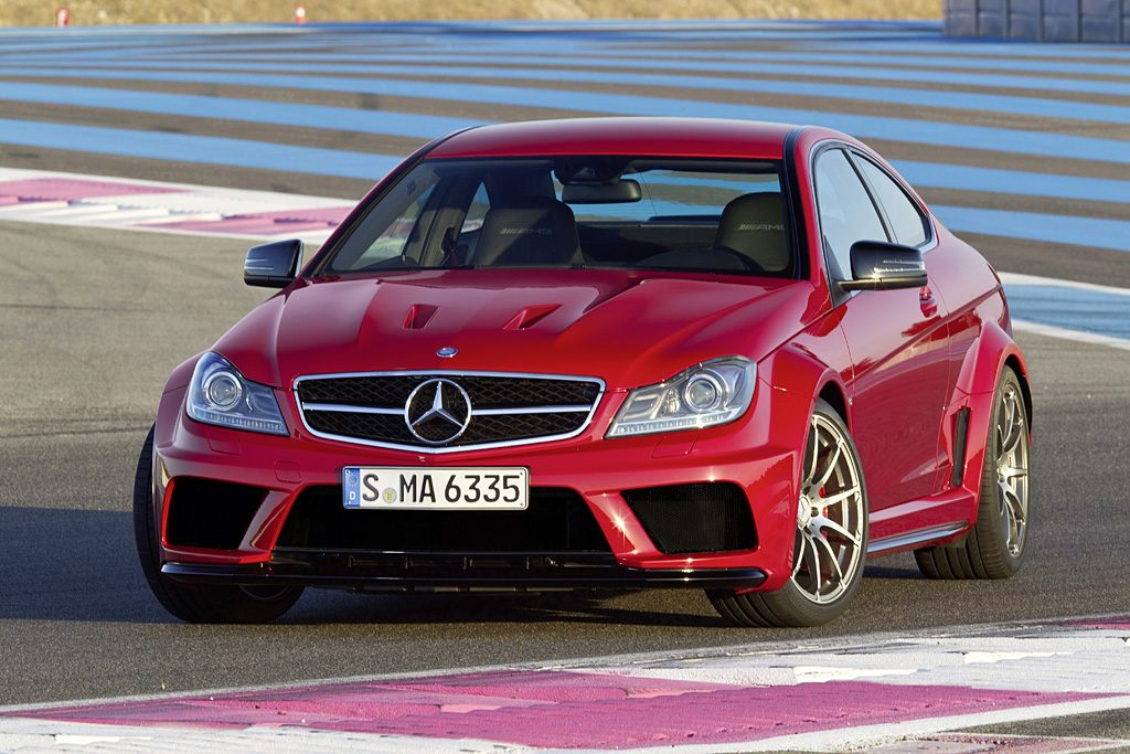 2011 Mercedes-Benz C 63 AMG Coupé Black Series Gallery