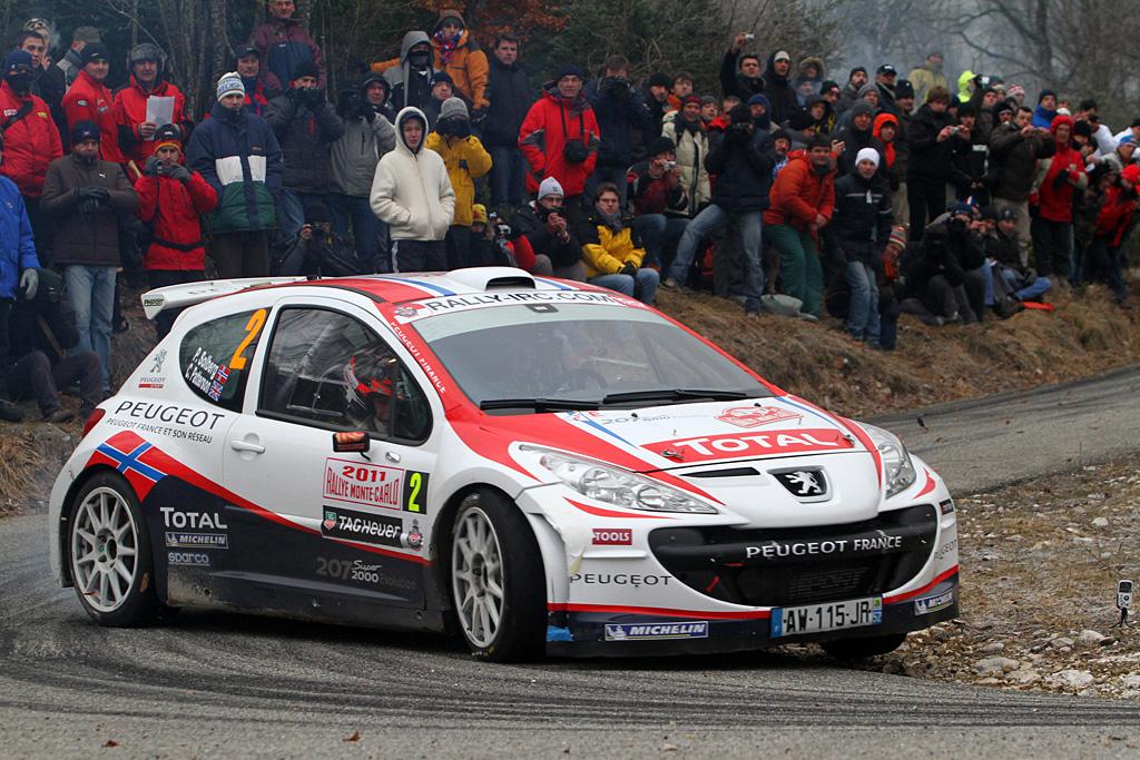 2011 Peugeot 207 S2000 Evolution