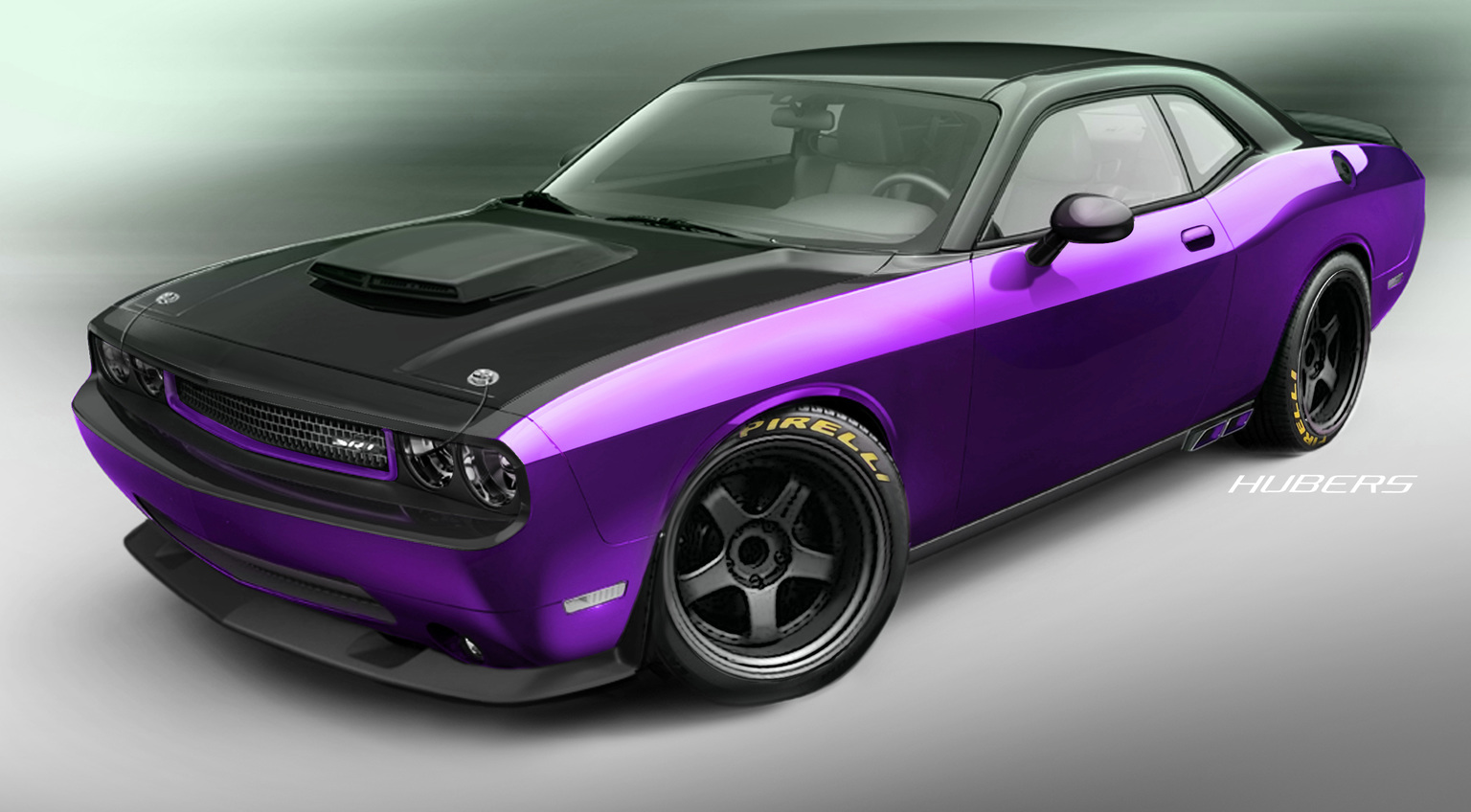 2012 dodge challenger srt8 'project ultraviolet'