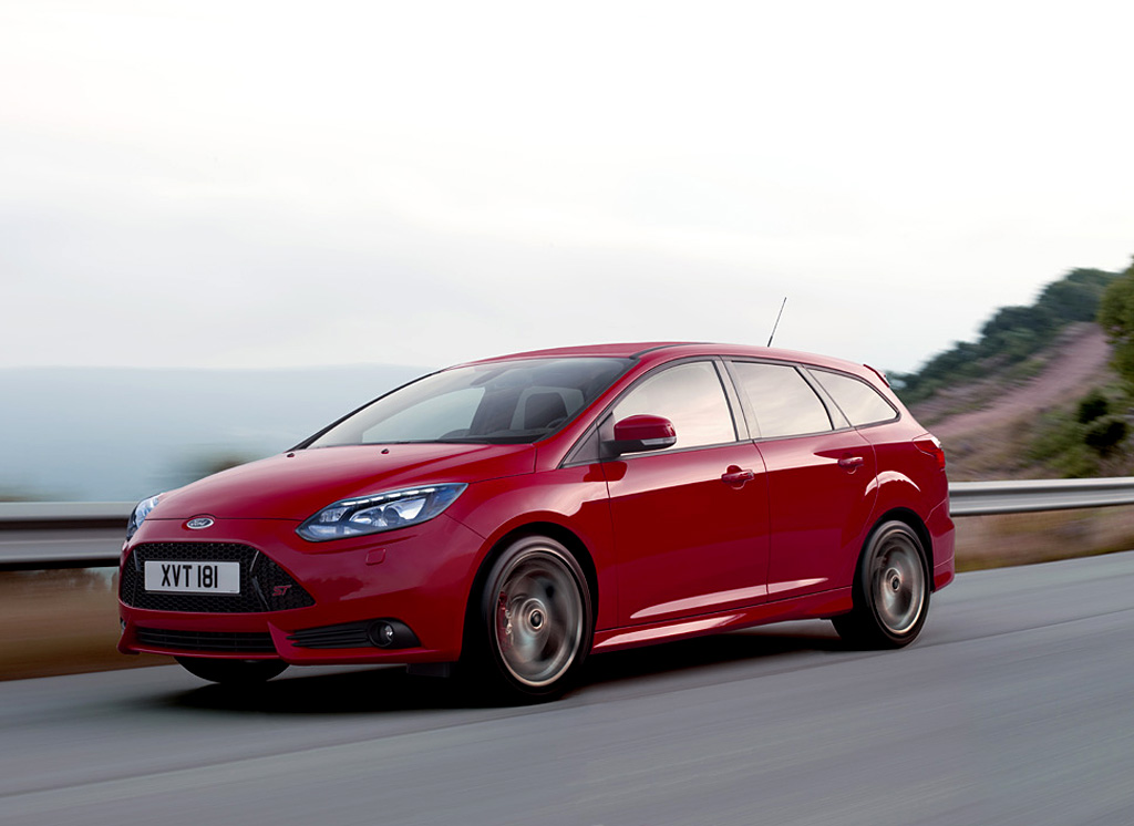 2012 Ford Focus St Wagon Ford Supercars
