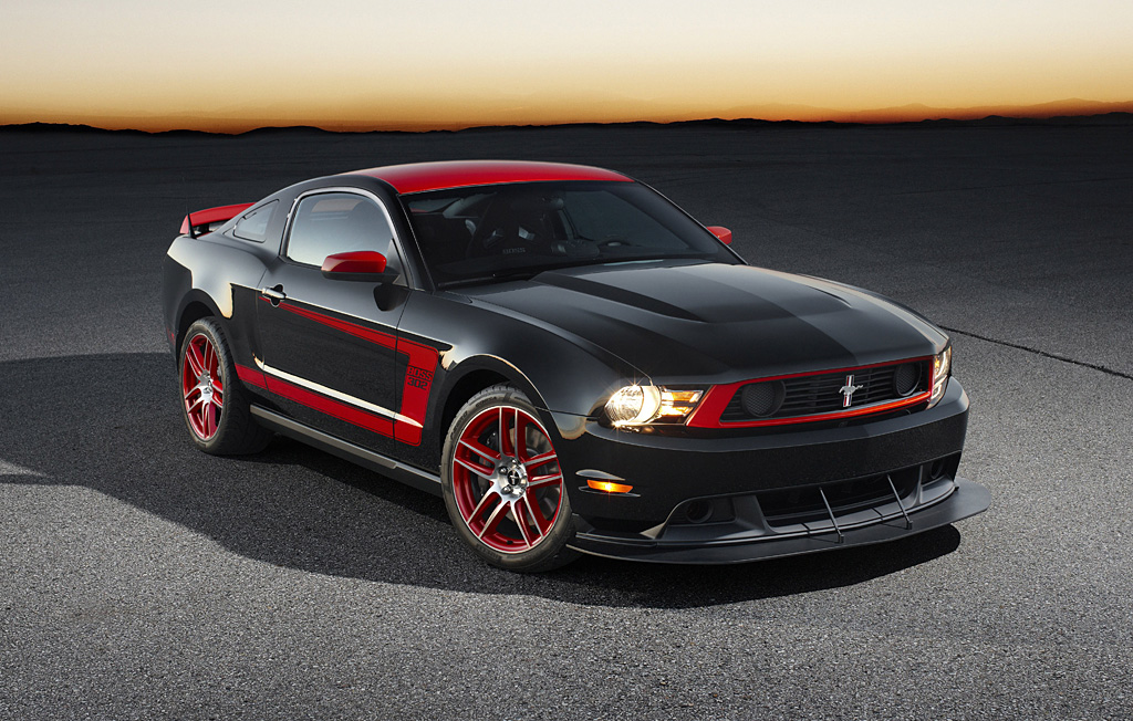 2012 Ford Mustang Boss 302 Laguna Seca Package