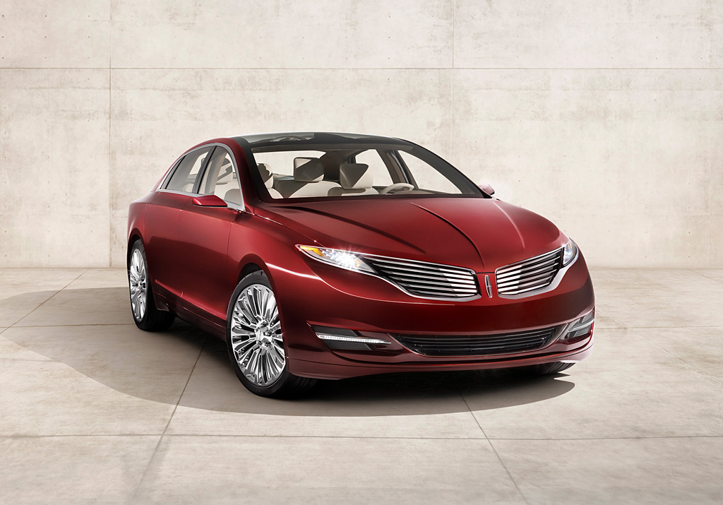 2012 Lincoln MKZ Concept | Lincoln | SuperCars.net