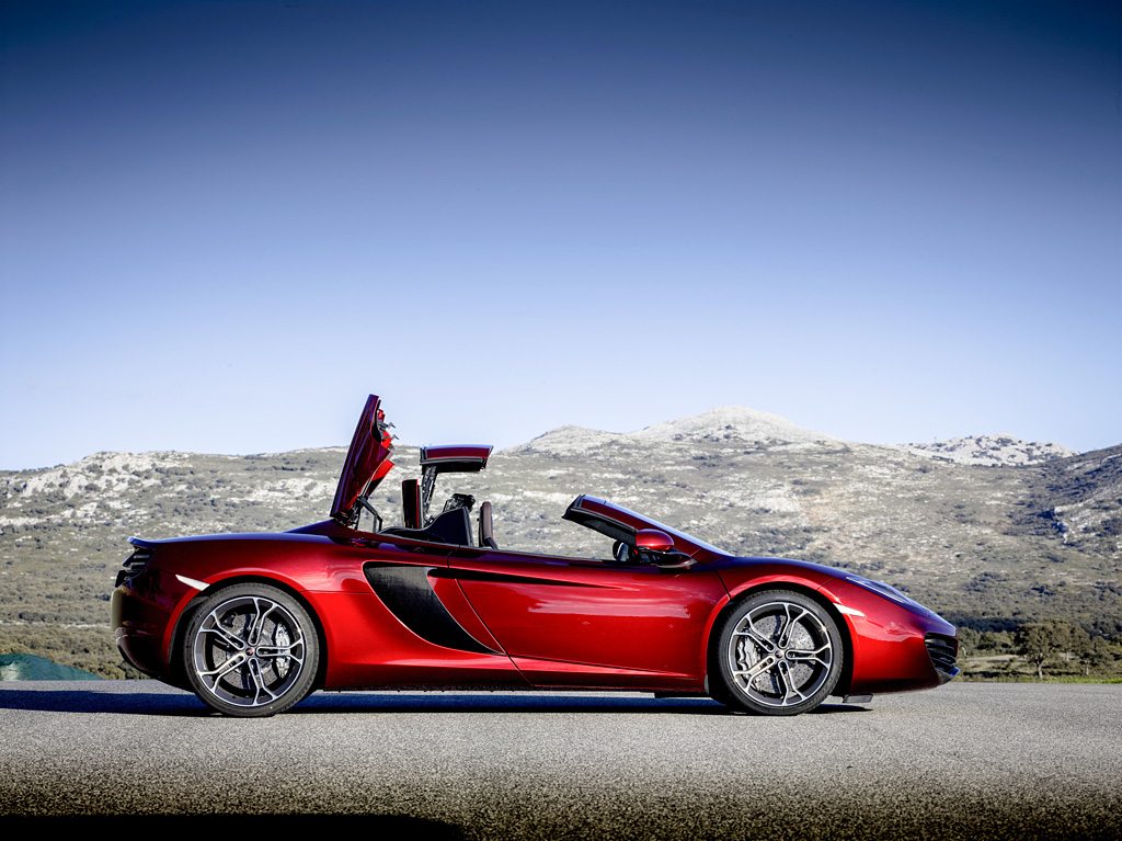 2012 mclaren mp4 12c spider review. Black Bedroom Furniture Sets. Home Design Ideas