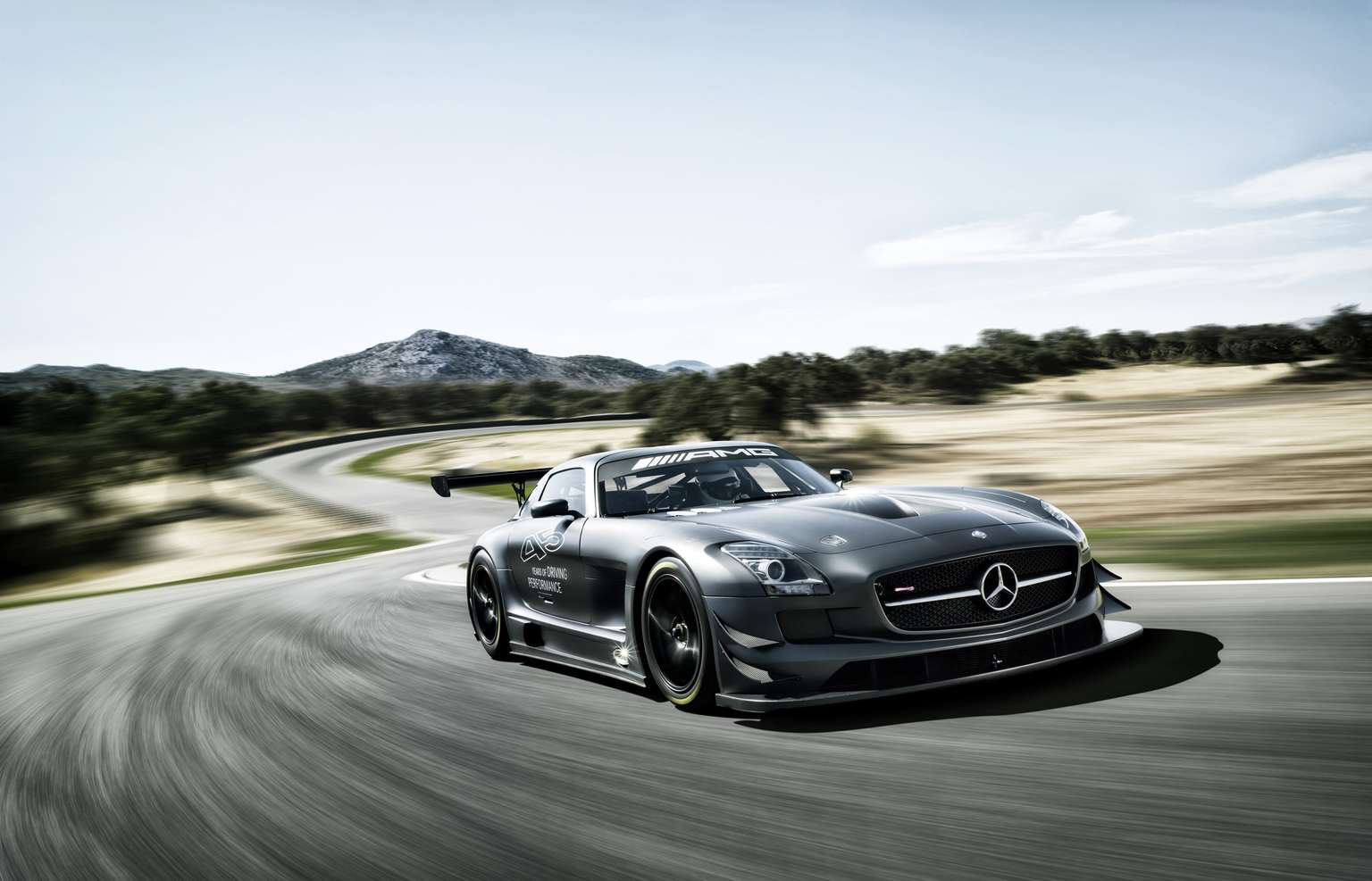2012 mercedes benz sls amg gt3 45th anniversary for Mercedes benz sls amg gt3 price