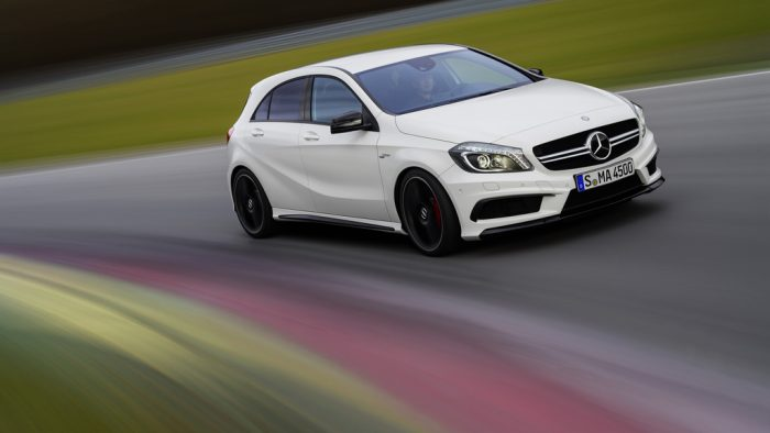 2013 Mercedes-Benz A 45 AMG hot hatch