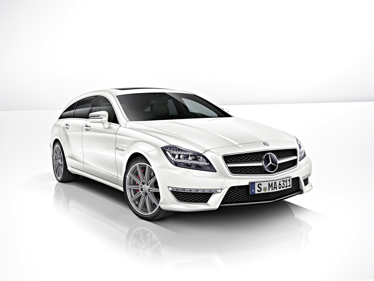2013 Mercedes-Benz CLS 63 AMG 4MATIC Shooting Brake