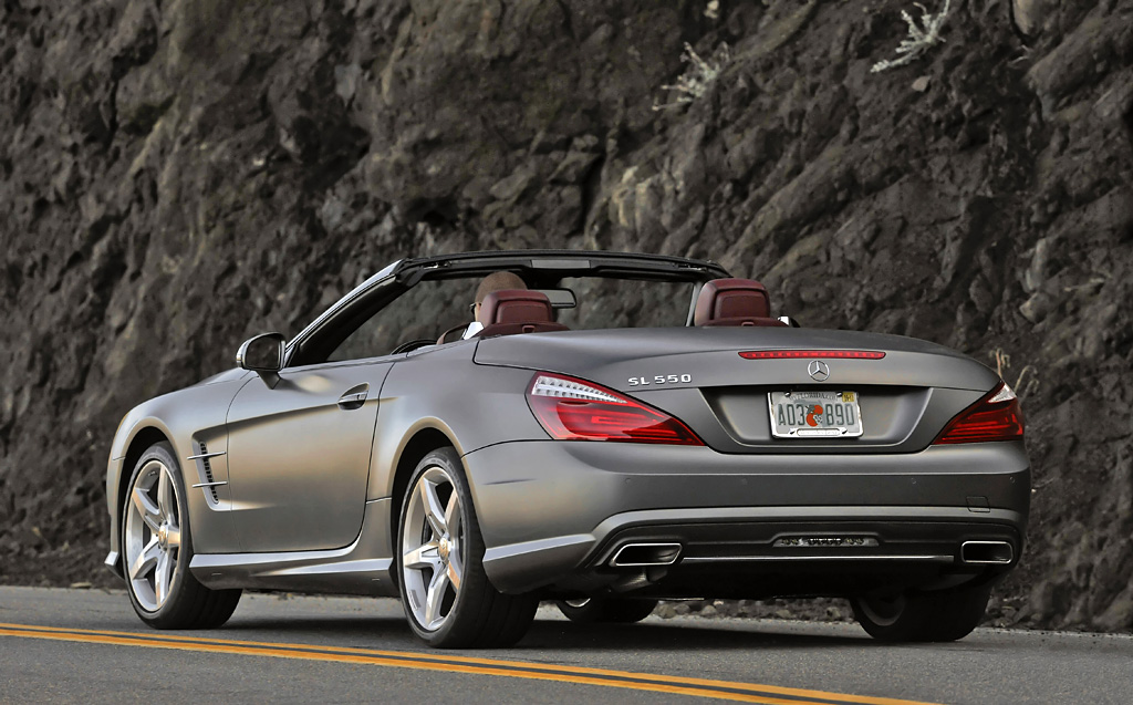 2013 mercedes benz sl 550 review