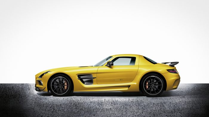 2013 Mercedes-Benz SLS AMG Coupé Black Series