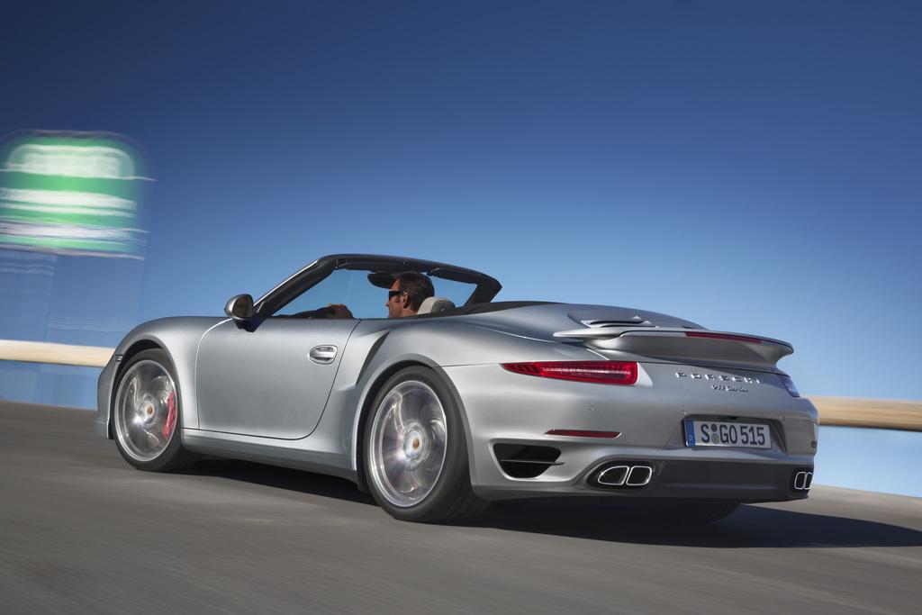 2013 Porsche 911 Turbo Cabriolet