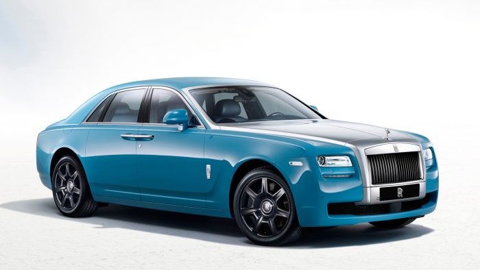 2013 Rolls-Royce Ghost Alpine Trial Edition