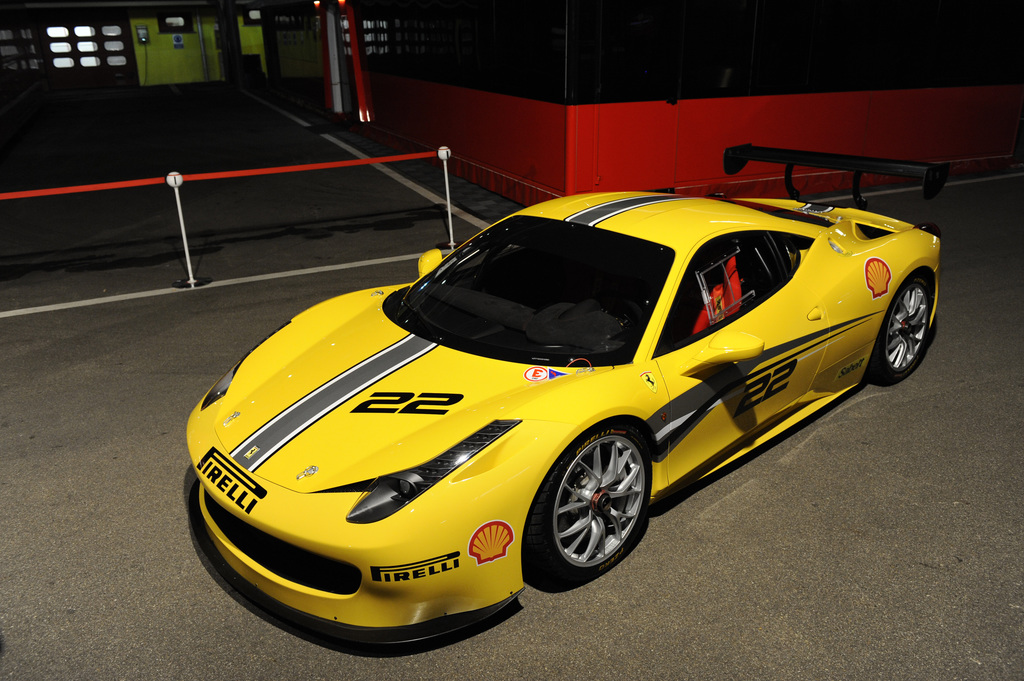 2014 ferrari 458 challenge evoluzione. Black Bedroom Furniture Sets. Home Design Ideas