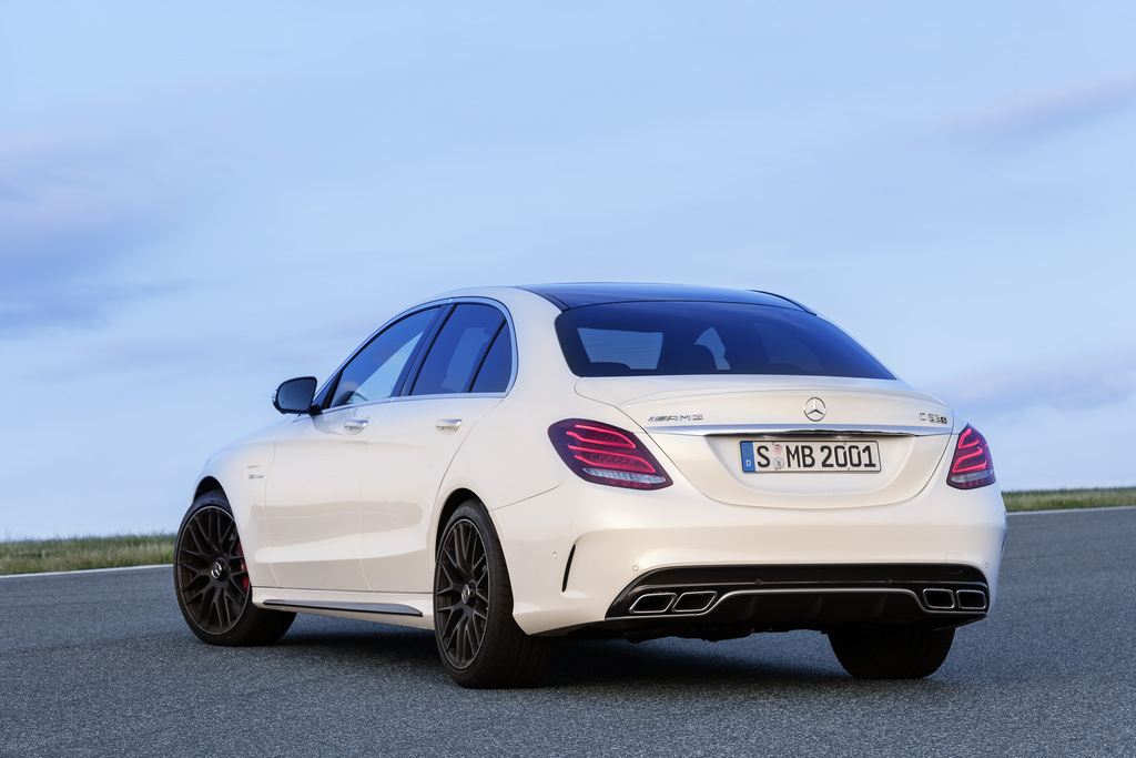 2014 Mercedes-Benz AMG C 63 Saloon