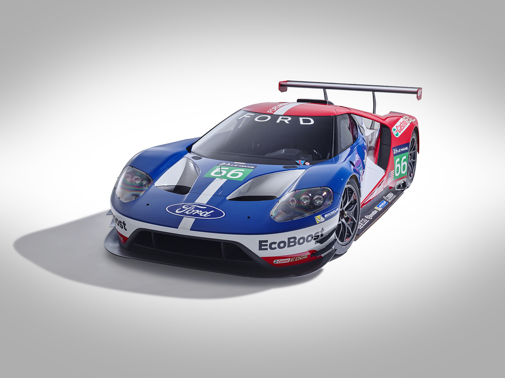 2016 Ford GT Race Car
