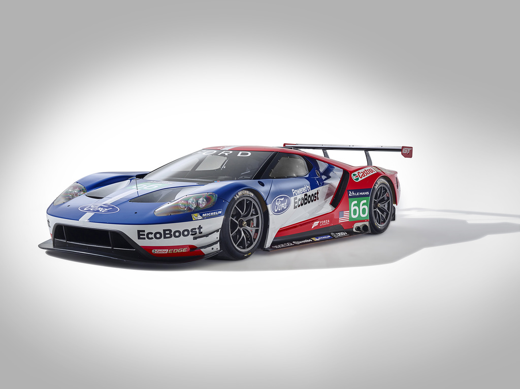 2016 Ford GT Race Car Gallery
