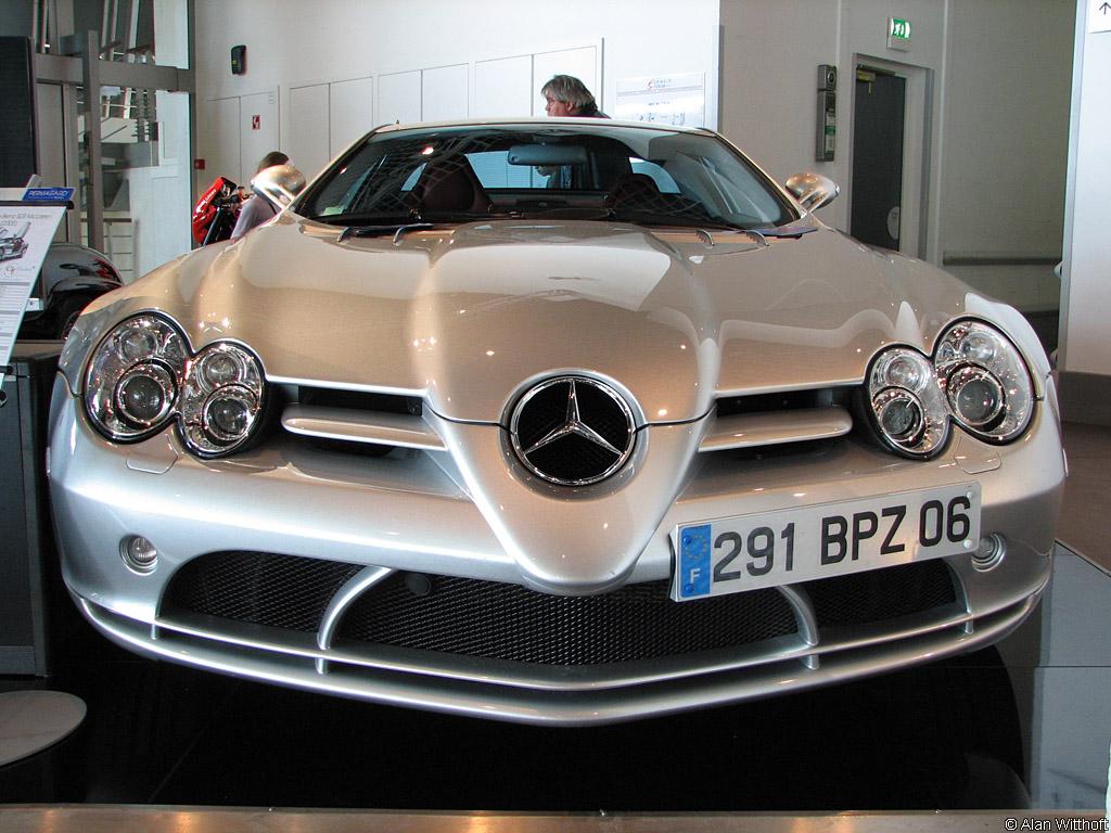 2004 Mercedes-Benz SLR McLaren Gallery