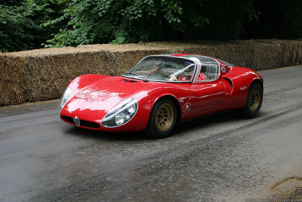 1967 Alfa Romeo T33/2 Stradale Prototipo Gallery