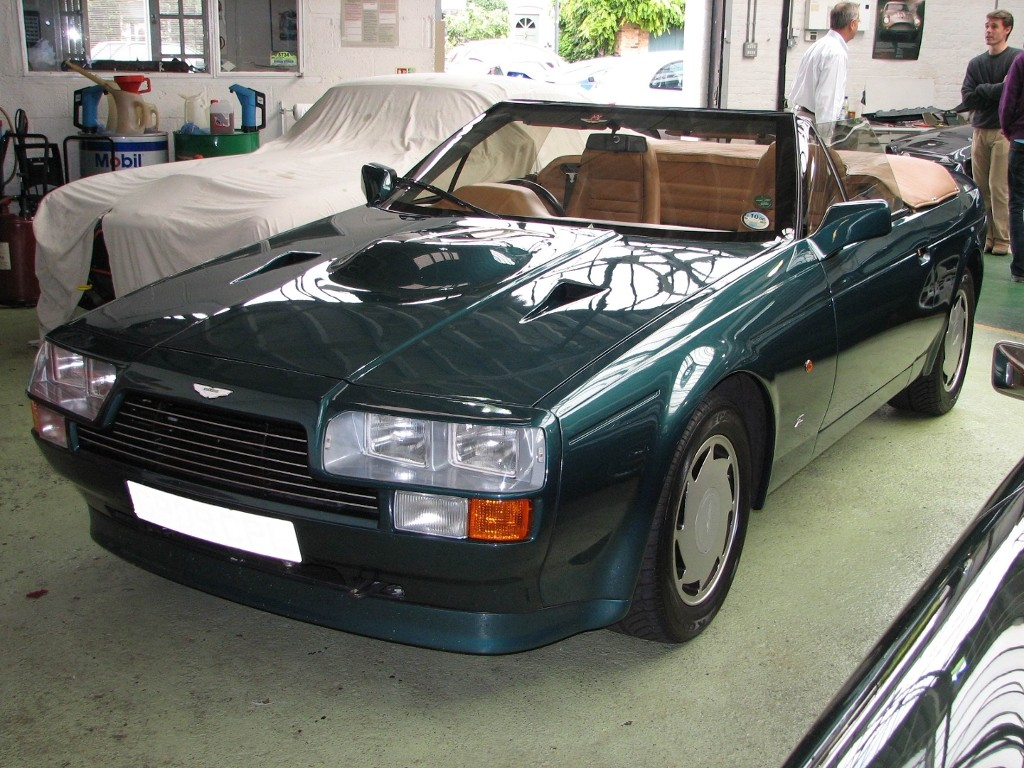 1988 aston martin v8 vantage zagato volante aston martin. Black Bedroom Furniture Sets. Home Design Ideas