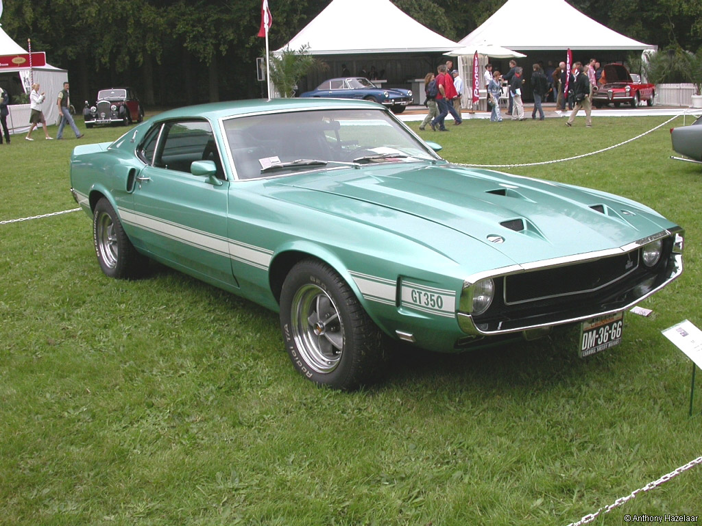 1969→1970 Shelby GT350