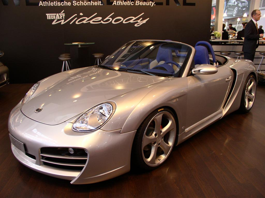 2005 TechArt Boxster Widebody