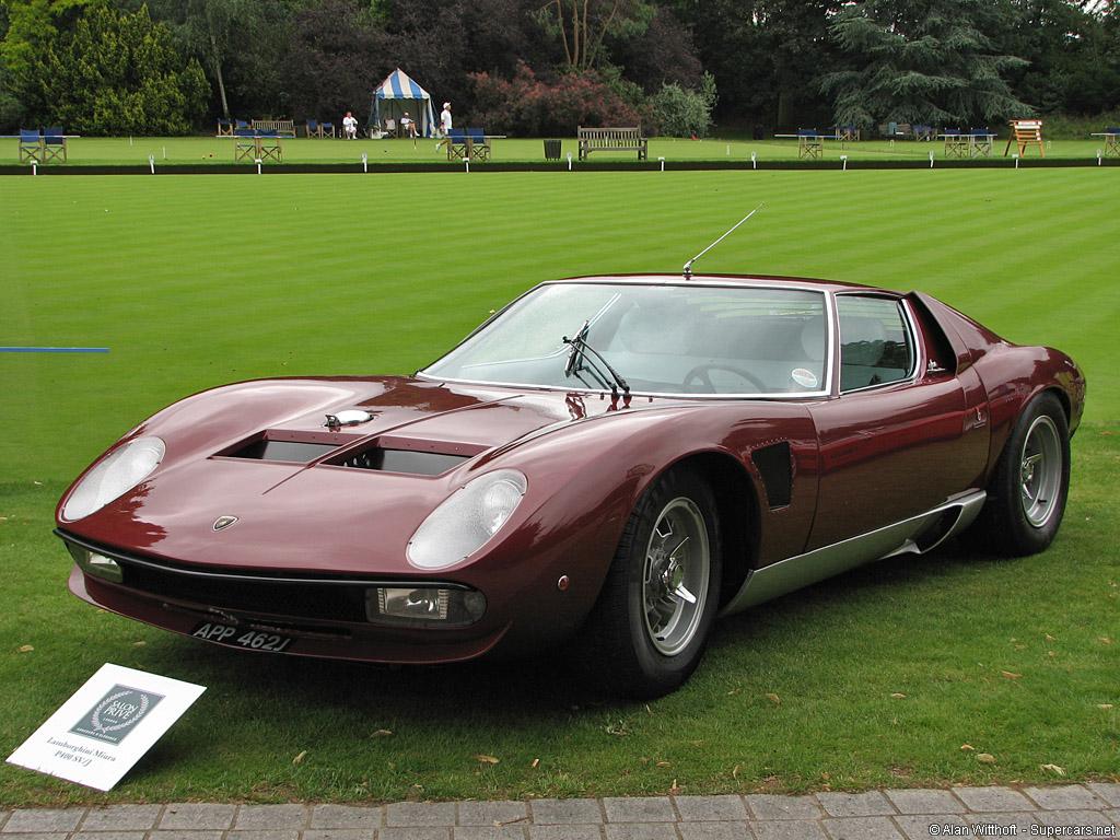 1970 Lamborghini Miura SVJ Gallery